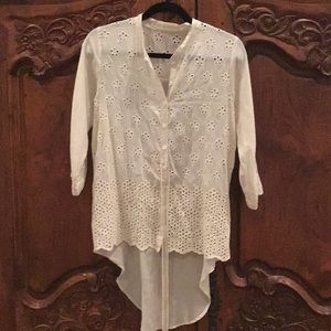 Tops - 4 Love And Liberty by Johnny Was button down top